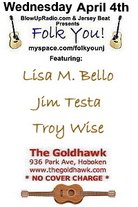 BlowUpRadio.com presents Folk You! @ SICA  Sat. May 7th